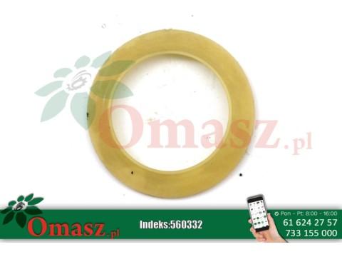 Pierścień plastikowy uszczelniający łożysko 1206, napędu wytrząsaczy oraz wentylatora Bizon
