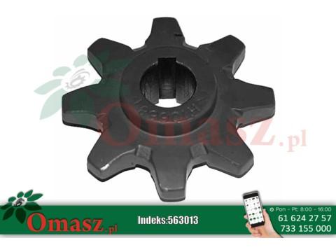 Koło przenośnika pochyłego Claas, Z-8, gwint 30mm