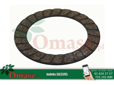 Okładzina sprzęgła napędu hederu Claas 190*130