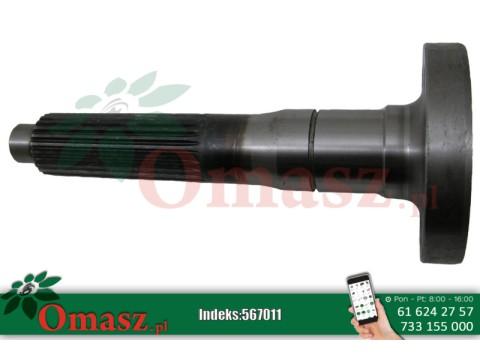 Wałek tarczy przeciążeniowej 270mm