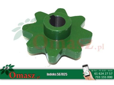 Koło zębate Z- 8, fi 25mm John Deere