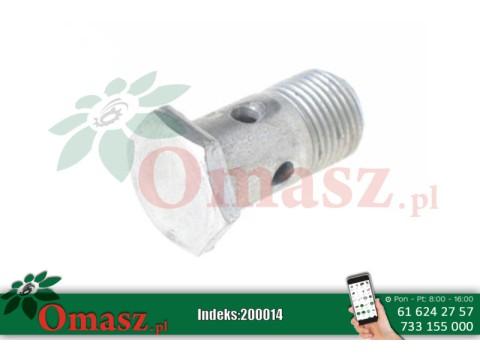 Śruba łącznika przewodów hydraulicznych *18 Ursus C-360