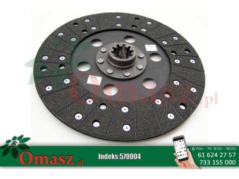 Tarcza sprzęgłowa Deutz Fahr fi280 10 frezów