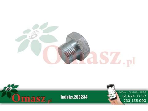 Korek gwintowany M18*1,5 - klucz 24