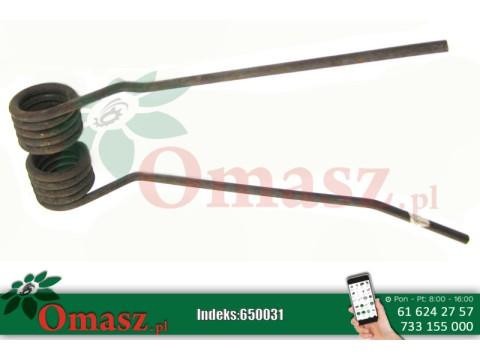 Palec karuzeli - przetrząsacza skrajny lewy Mesko Z-275 NH23