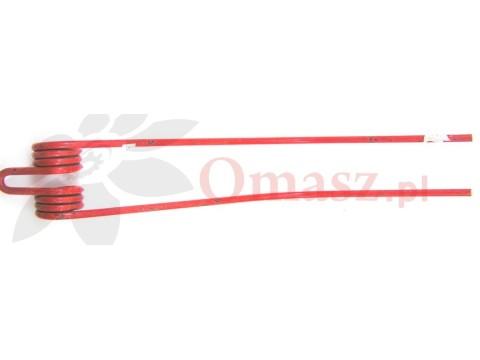Palec karuzeli - zagrabiarki pokosu Claas