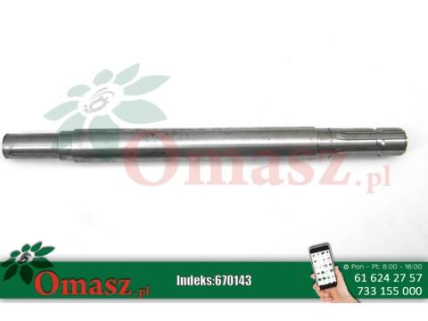 Wałek głowicy Z 1,85m 47,5cm