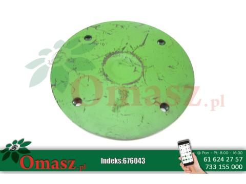 Płyta dolna talerza ślizgowego kosiarka Czeska