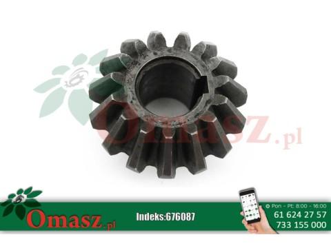 Koło zębate stożkowe kosiarka Czeska, z-15, otwór 25mm