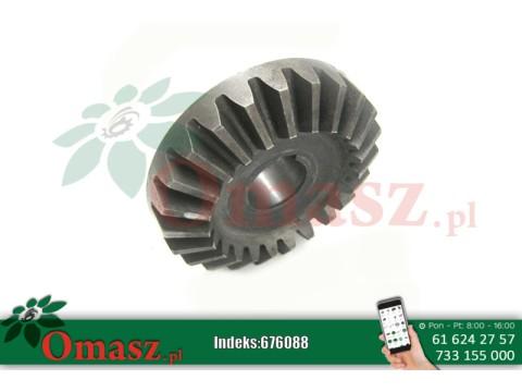 Koło zębate stożkowe kosiarka rotacyjna Czeska, z-23, otwór 25mm