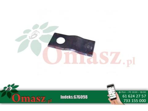 Nóż kosiarki rotacyjnej Czeskiej 106x47 (MWS)