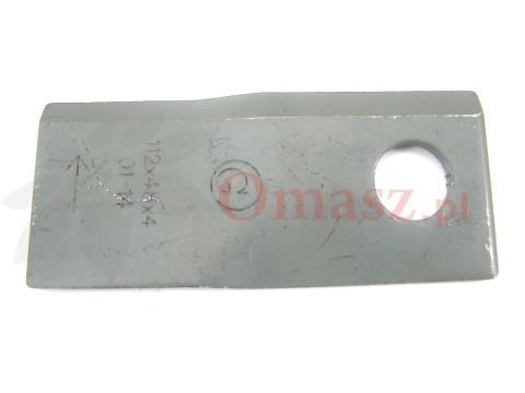 Nóż kosiarki rotacyjnej Krone lewy długi