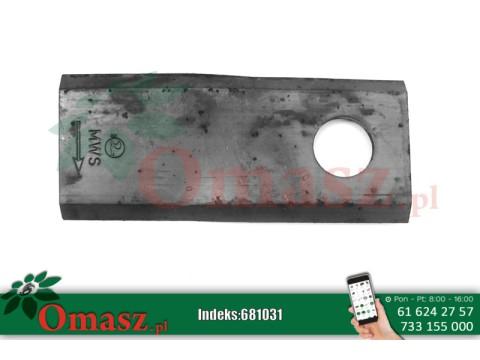 Nóż kosiarki rotacyjnej Kuhn L 68/1037