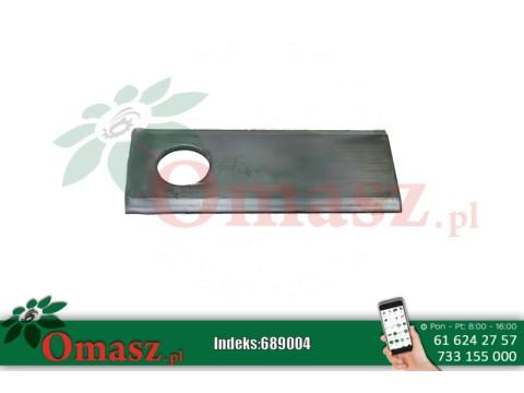 Nóż kosiarki rotacyjnej Tarup 109x40x3 fi20,5