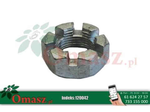 Nakrętka M20*2,5 koronkowa