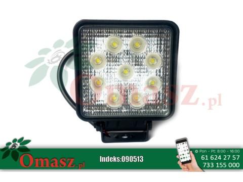 Lampa robocza 9 LED 27W 2200Lm