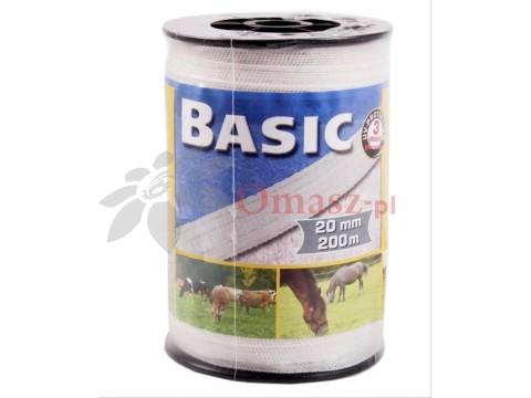 Taśma BASIC dla bydła koni 20mm/200mb