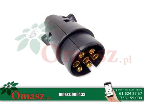 Wtyczka wtyk elektryczny 7PIN 12V