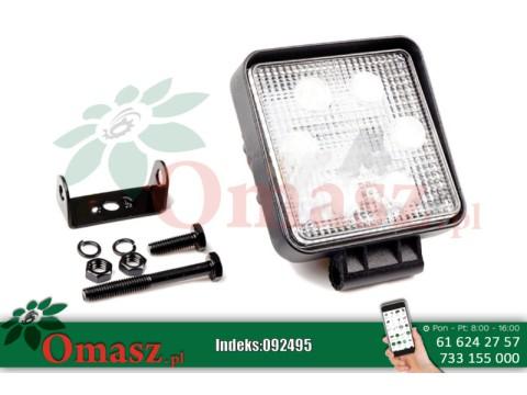 Lampa robocza 6 LED prostokątna 3W