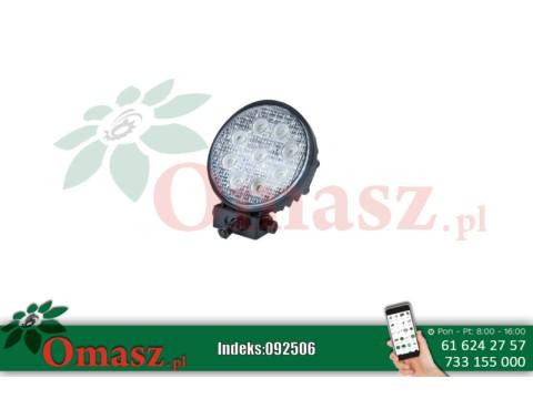 Lampa robocza 9 LED okrągła 2200Lm