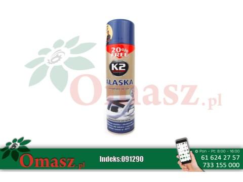 Odmrażacz szyb 500ml spray K2