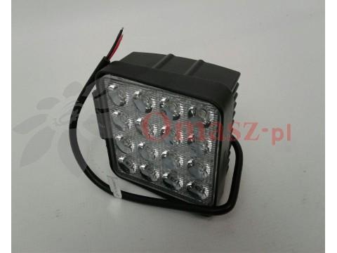 Lampa robocza 16 LED prostokątna
