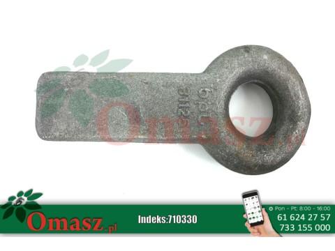 710330 Ucho dyszla do przyspawania omasz.pl