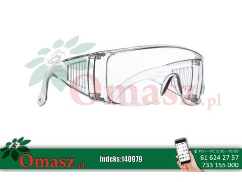 Okulary plastikowe białe