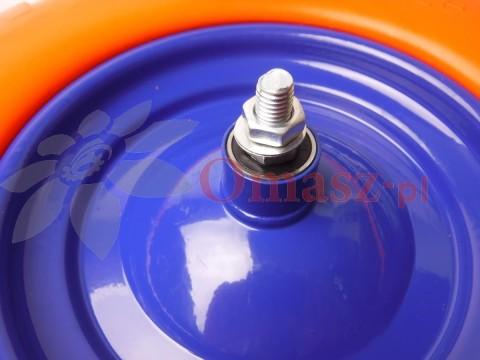 Koło pneumatyczne 400*8 poliuretanowe z osią