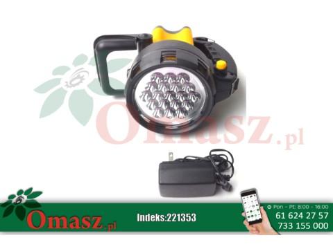 Latarka ładowalna 19 LED