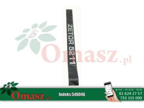 Nalepka ZETOR 5211 kpl.-2szt.P+L