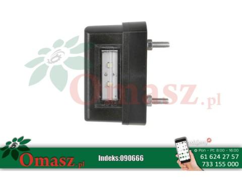 Lampa tablicy rejestracyjnej 12/24V W54