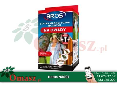 250030 Bros Magnetyczna siatka na drzwi 100x220cm omasz.pl