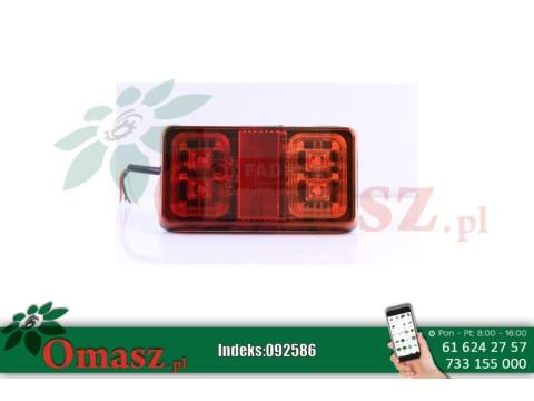 Lampa tylna LED 12V 24V 16led