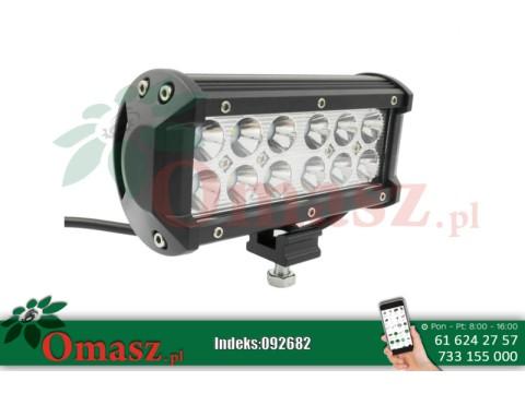 Lampa LED prostokątna 160mm 36W