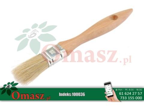 Pędzel angielski malarski płaski 25mm