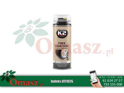 Uszczelniacz przebitych opon K2 400ml