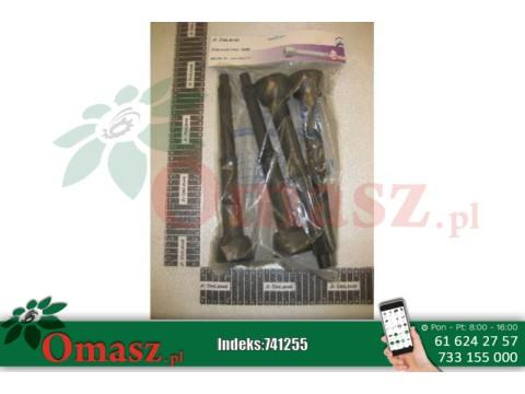 Gumy strzykowe 4 sztuki DeLaval 10mm do aparatu MC11