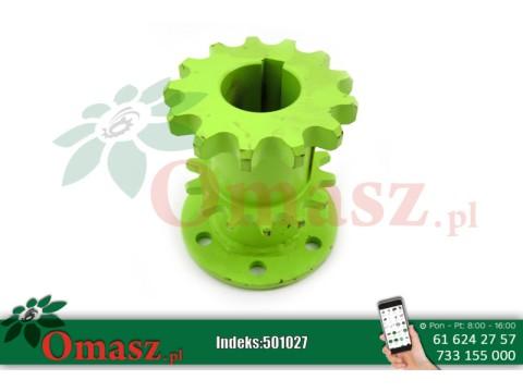 Koło łańcuchowe Claas, podwójne z flanszą, Z-13/Z-14