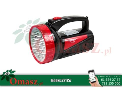 Latarka ładowalna 19+18 LED