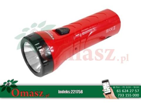 Latarka ładowalna 1 LED