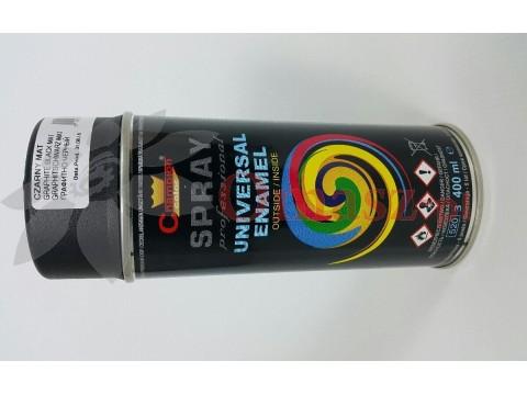 Farba spray Champion czarna matowa 400ml