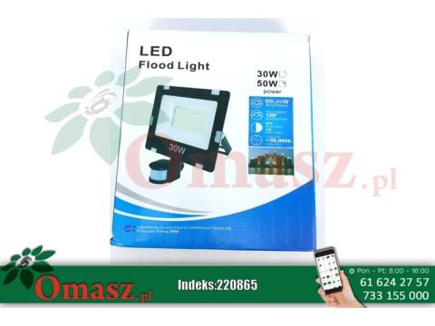 Naświetlacz LED 50W/ 230V z czujnikiem ruchu