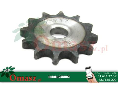 """Koło łańcuchowe Z-12 08 B-1 (1/2""""x5/16"""")"""