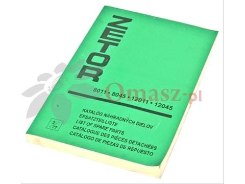 Katalog części Zetor 8011/12045