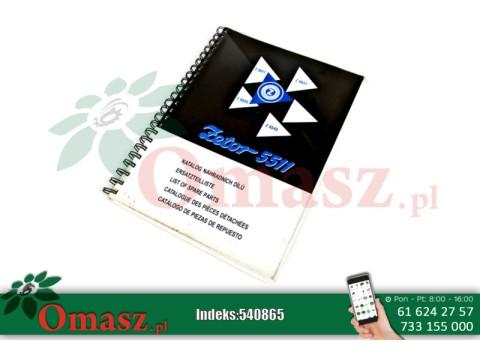 Katalog części Zetor 5511-5647