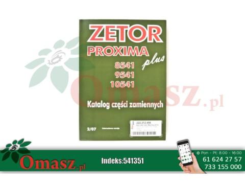 Katalog części Zetor 8541 PROXIMA