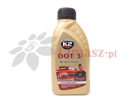 Płyn hamulcowy DOT-3 a0,5l