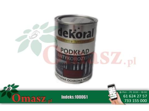 Podkład Unicor C Dekoral czerwony tlenkowy 0,9L