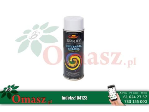 Farba Spray CHAMPION 400ml biały połysk